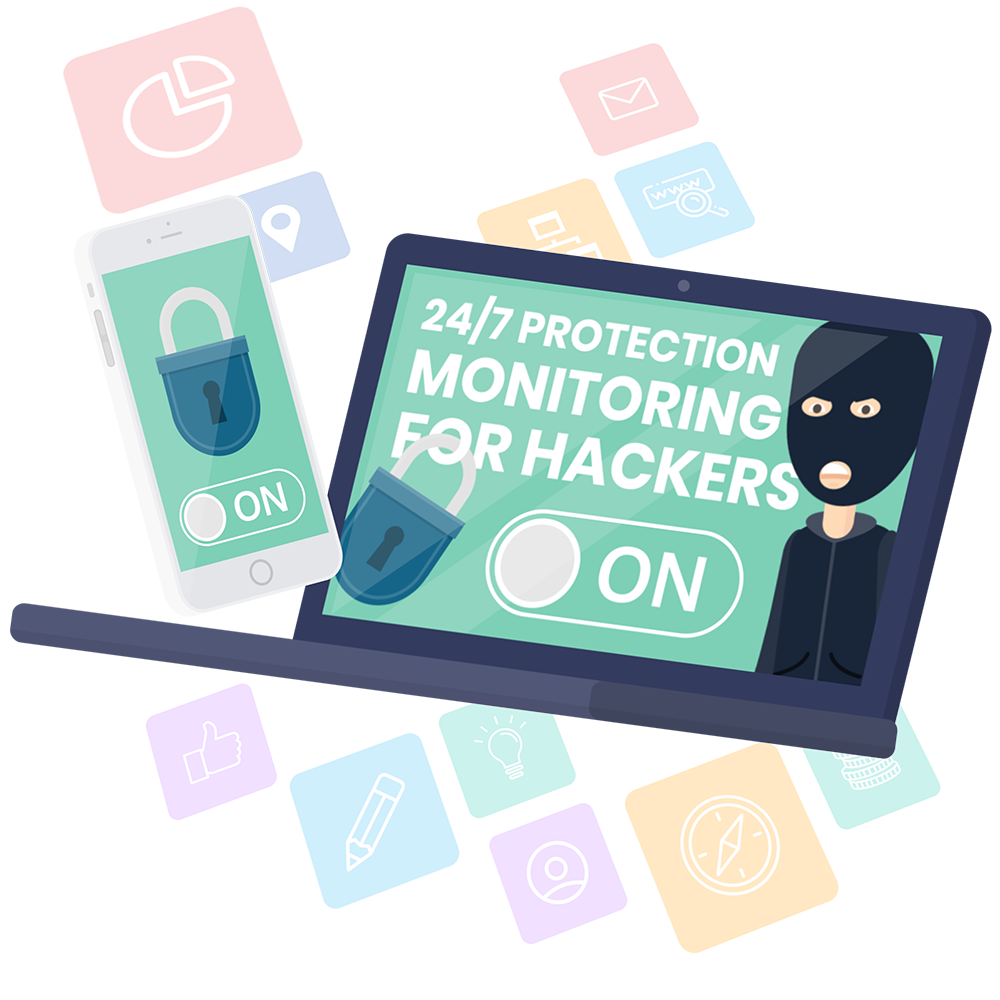 Protection Monitoring for hackers image